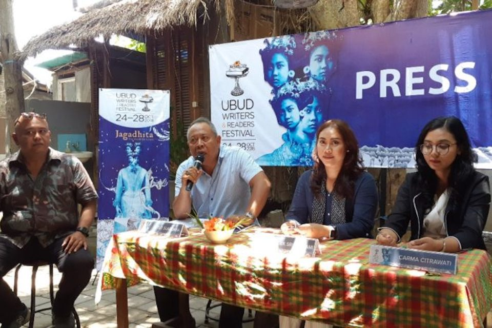 Harian Kompas Sponsorship Ubud Writer and Readers Festival